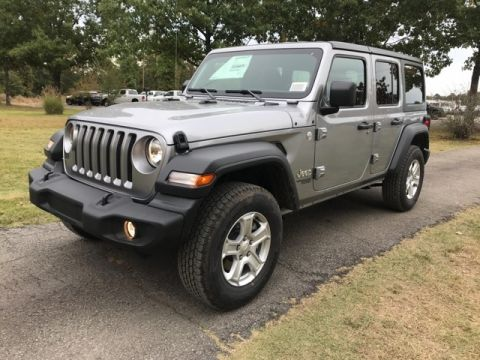 New 2019 JEEP Wrangler Unlimited Sport S Sport Utility for Sale